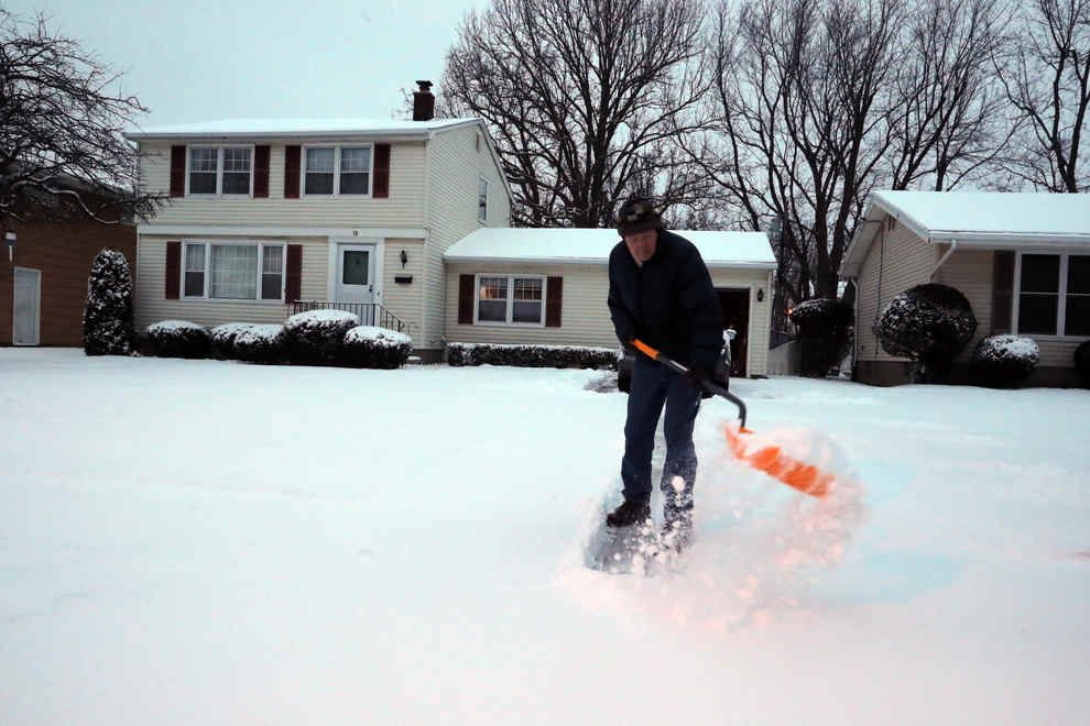 3 To 5 Inches Of Snow For Buffalo Starts Wednesday Night Local News Buffalonews Com