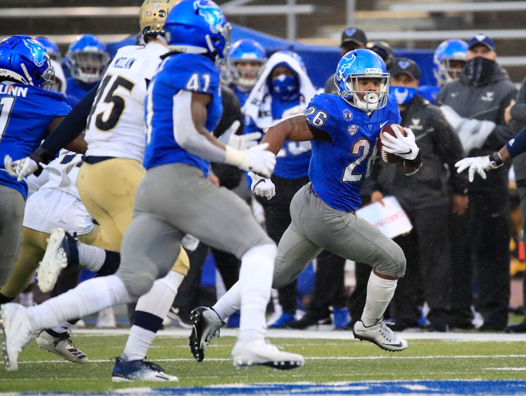 UB's Jaret Patterson makes USA Today Sports' 2020 All ...