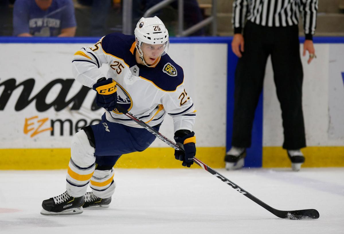 Arttu Ruotsalainen among four Sabres assigned to Rochester ...