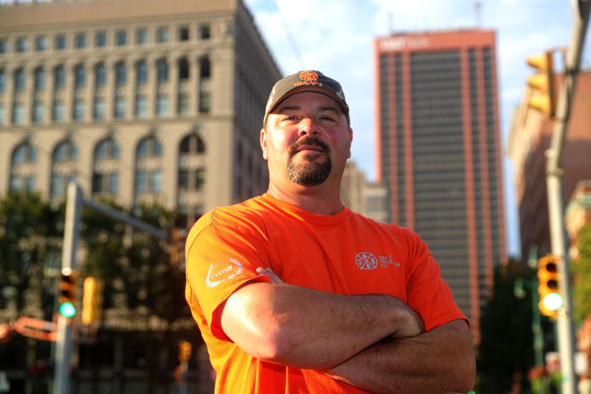 Jesse Lee, foreman on the reopening of the Seneca One tower