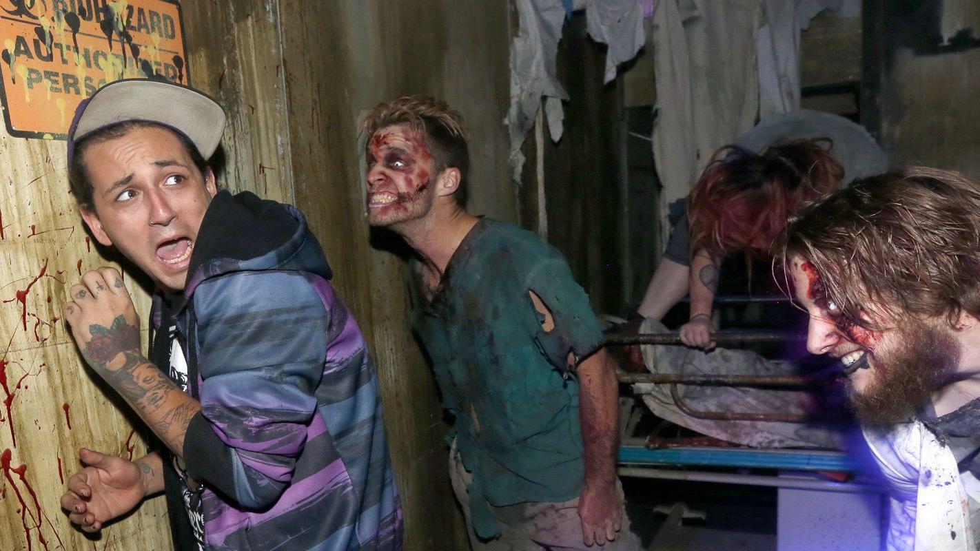 haunted house ny frightworld americas screampark