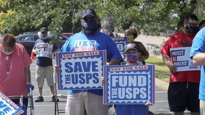 Postal Workers Rally