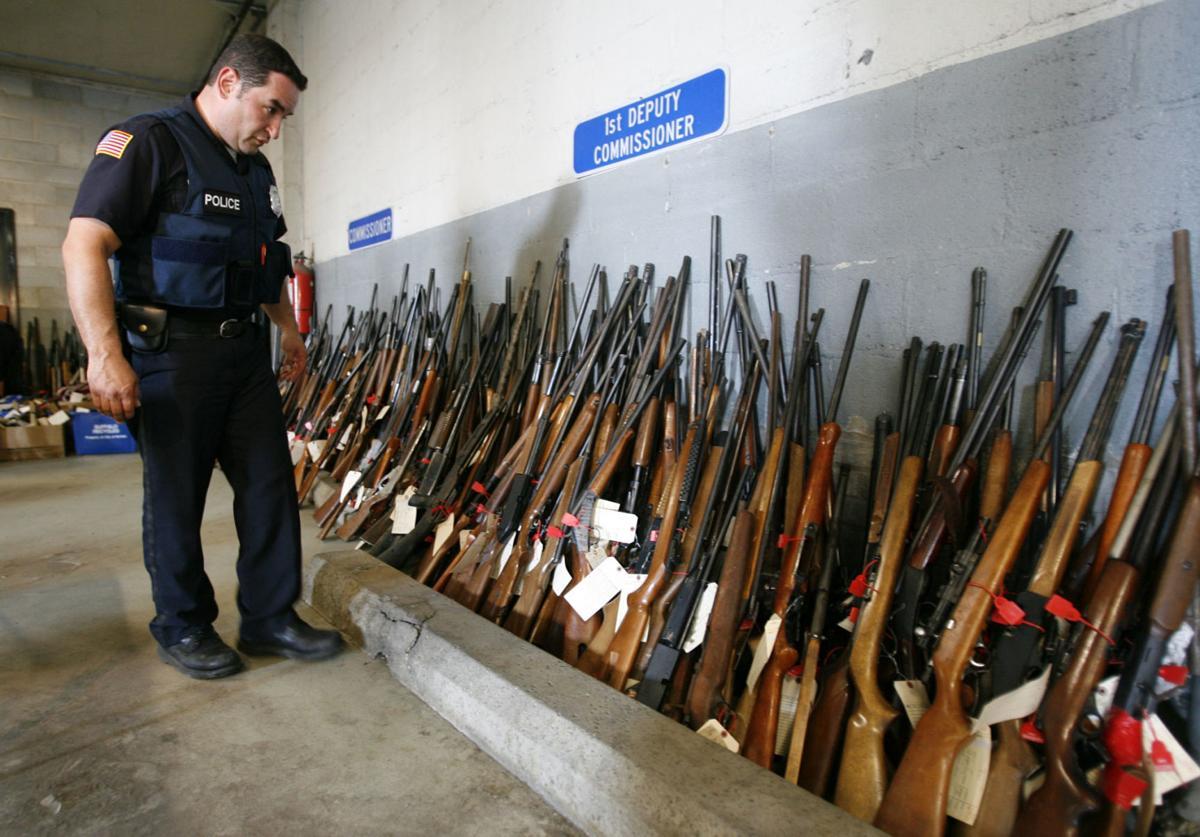 local gun buy-back  scull