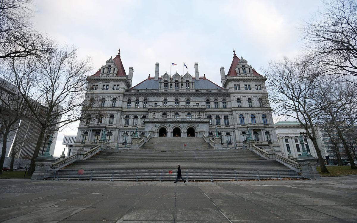 New York State Capitol Building Albany