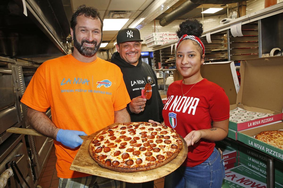 Dave-Alessi-Roberto-Santiago-Veronica-Ocasio-Pepperoni-Cheese-Pizza-La-Nova-kirkham