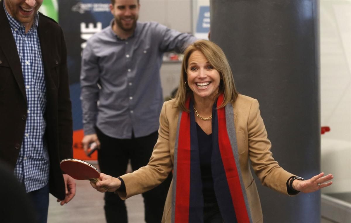 Katie Couric visits Buffalo