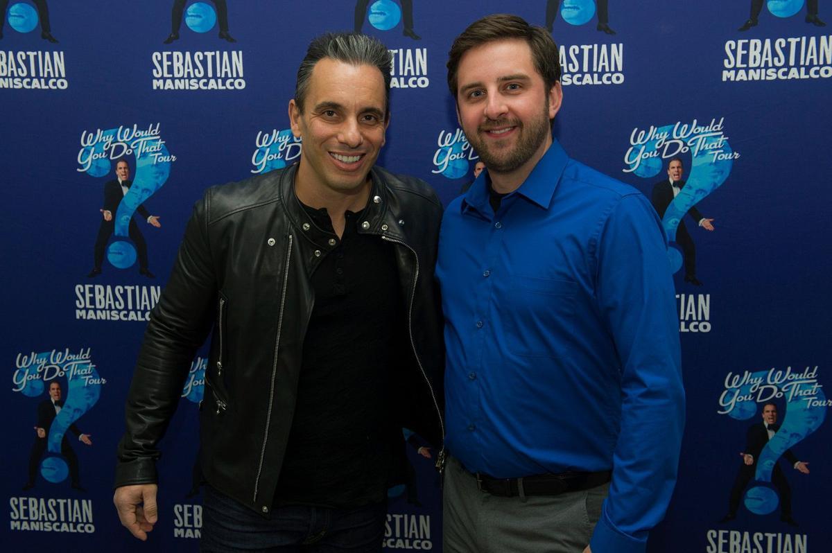 Sebastian Maniscalco and Brian Herberger in Rochester