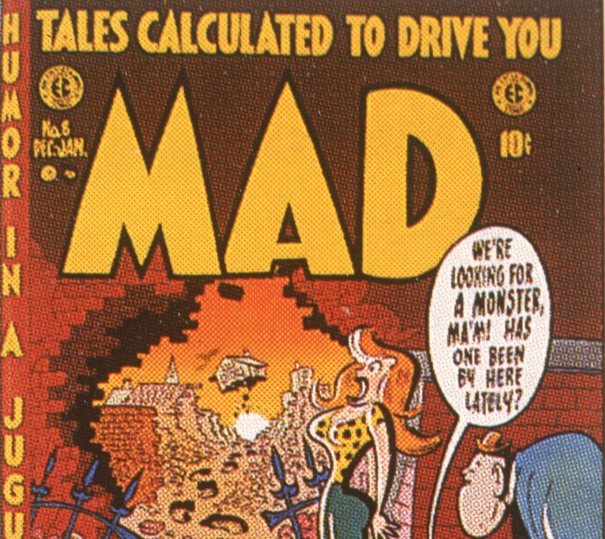 Mad Magazine Cover December 1953