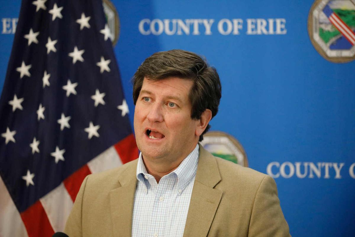 Erie County Covid-19 press conference (copy)