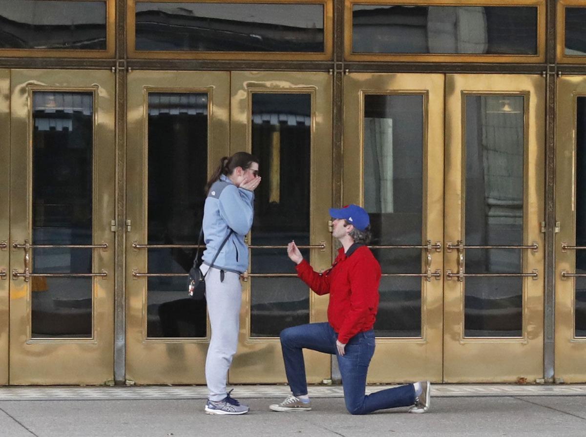 Shea's marriage proposal