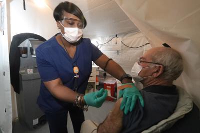VA vaccination clinic