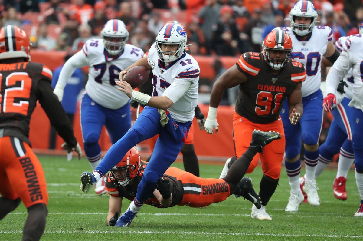 McCoy-Sports-Buffalo Bills quarterback Josh Allen (17)-2019