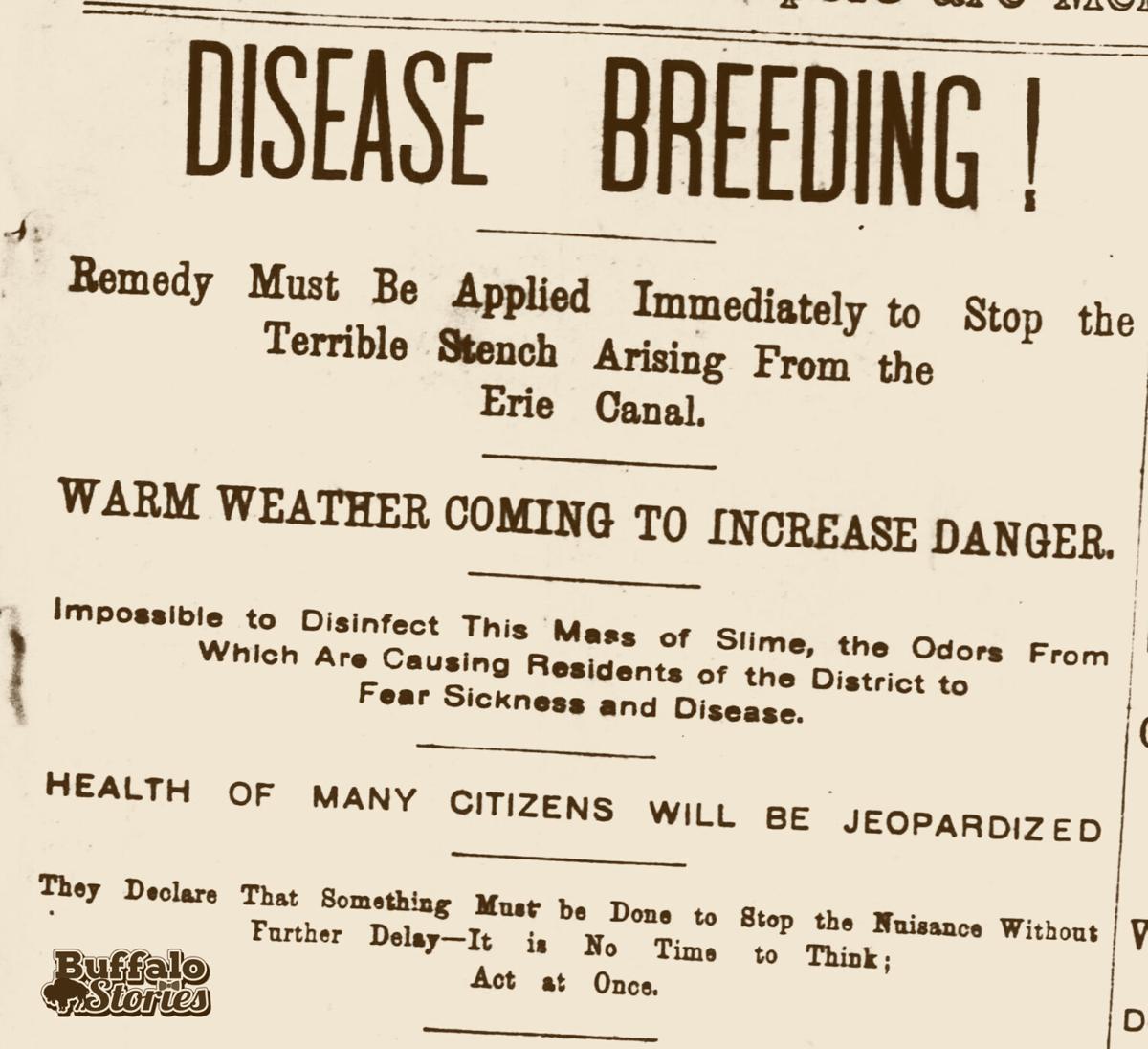 Erie Canal Buffalo Enquirer headline 1897.jpg