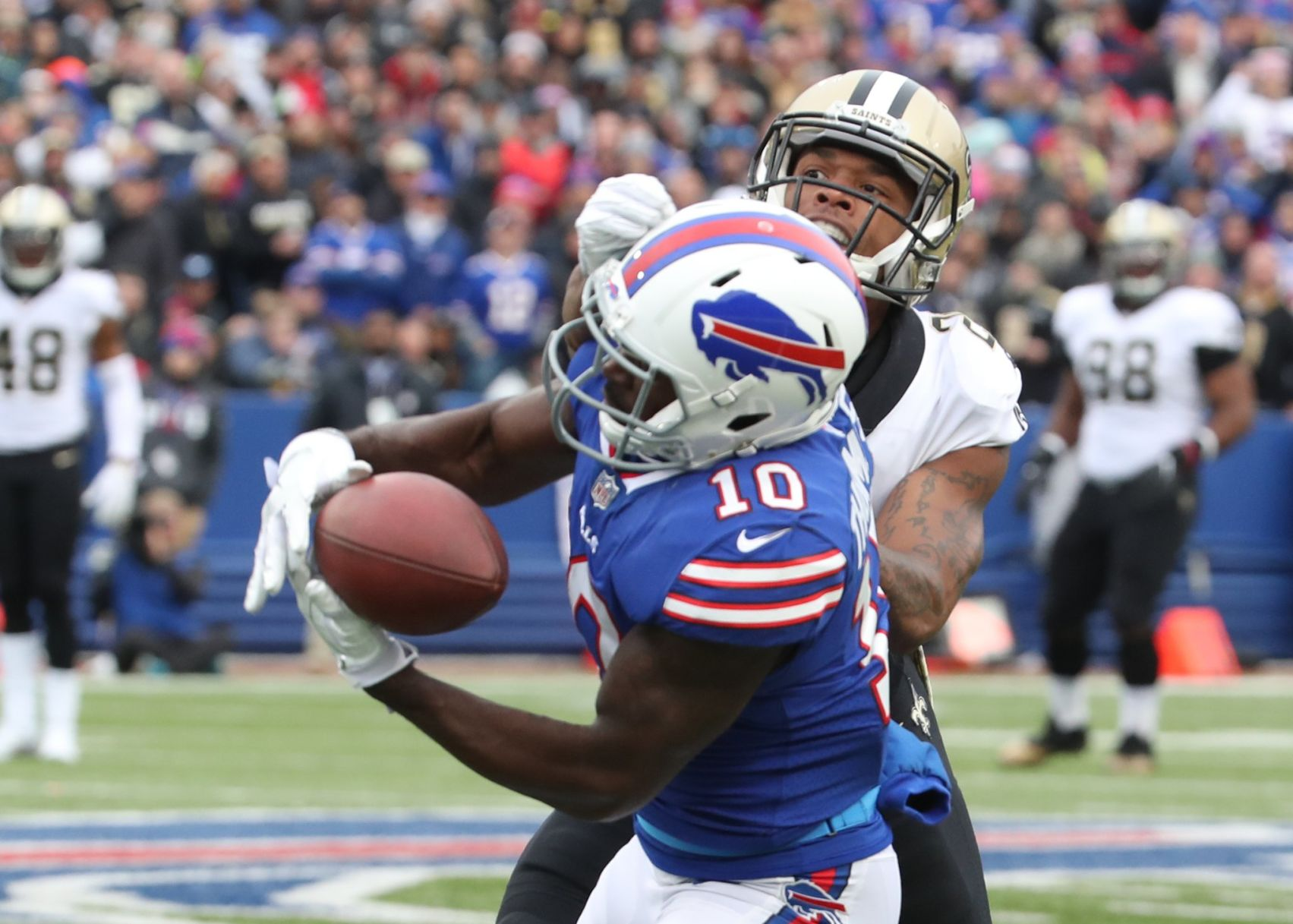 Bills injury update: Shareece Wright out, Deonte Thompson ...