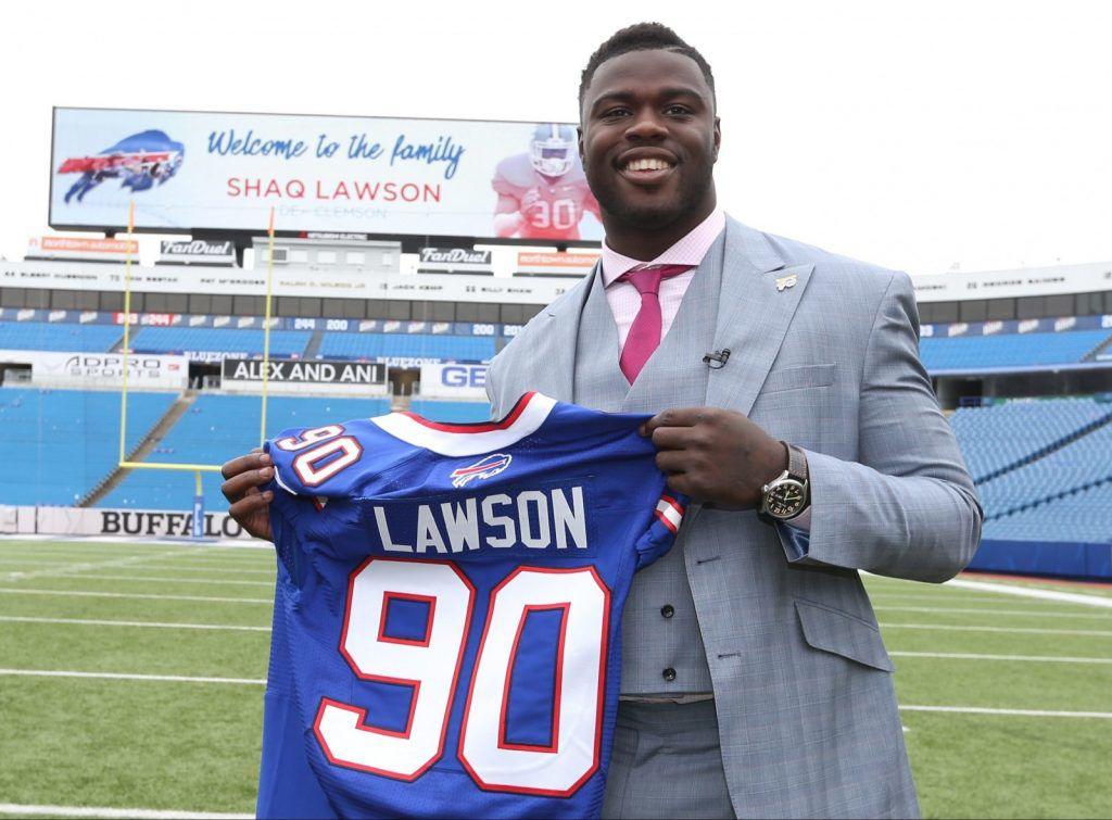 Shaq Lawson expected to make NFL debut Sunday vs. Dolphins ...