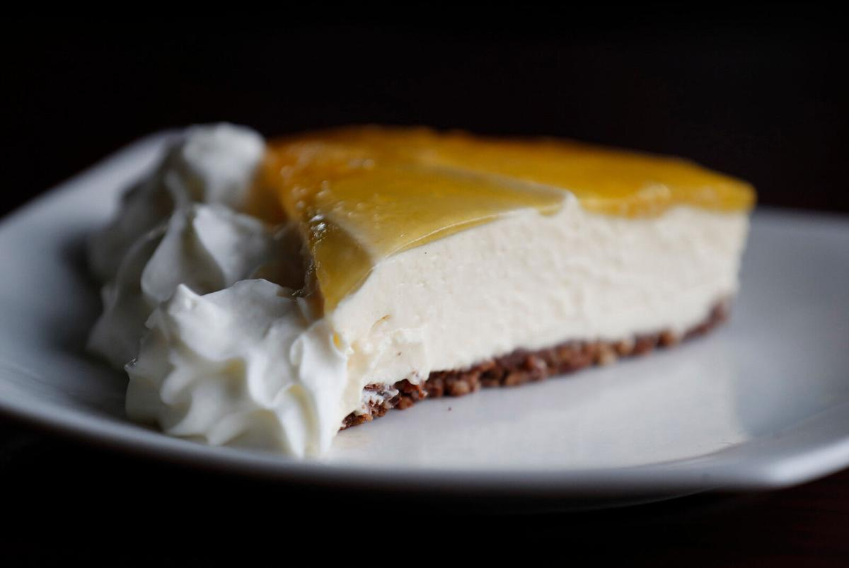 Islands Hawaiian Grill (copy) passionfruit cheesecake
