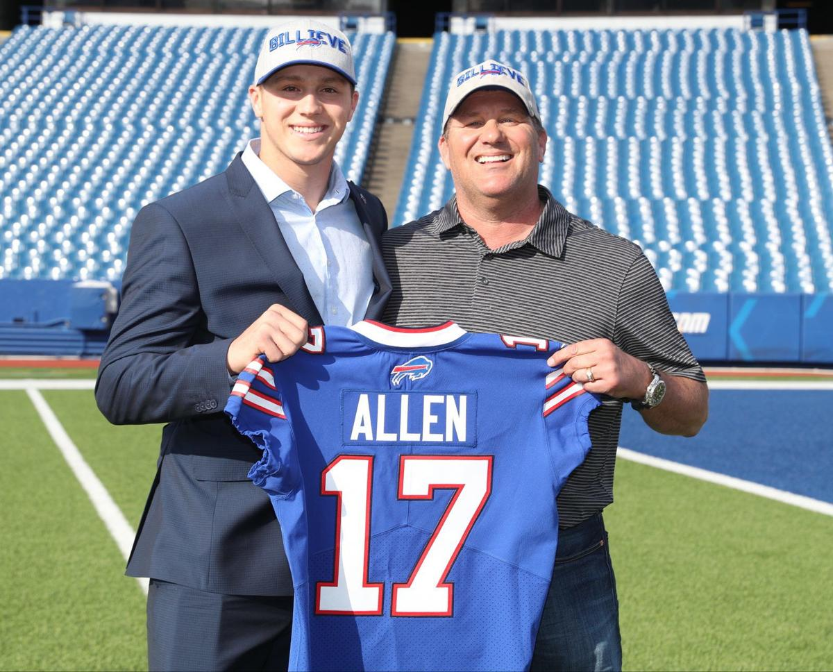 1010248810 McCoy Sports Draft Josh Allen