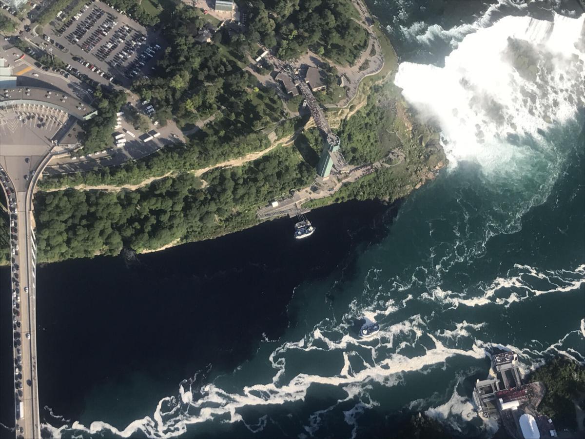 Sewage in the Niagara River