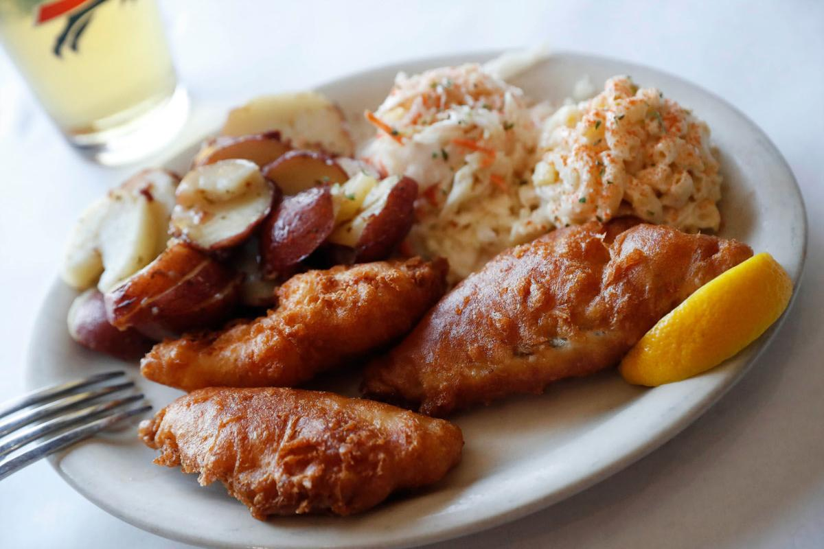 Perch fish fry at Connor's Restaurant