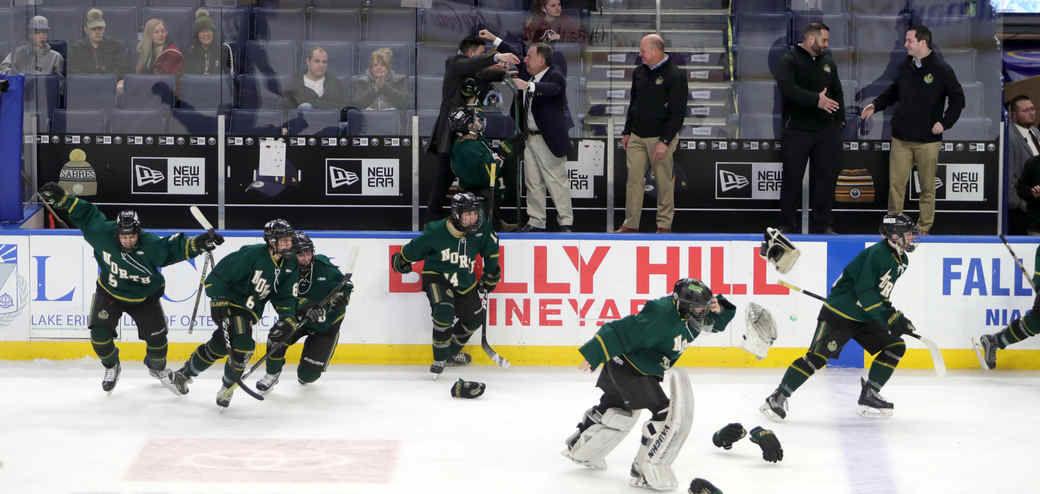 Williamsville North Rosen large school hockey final  2020 HICKEY (copy)