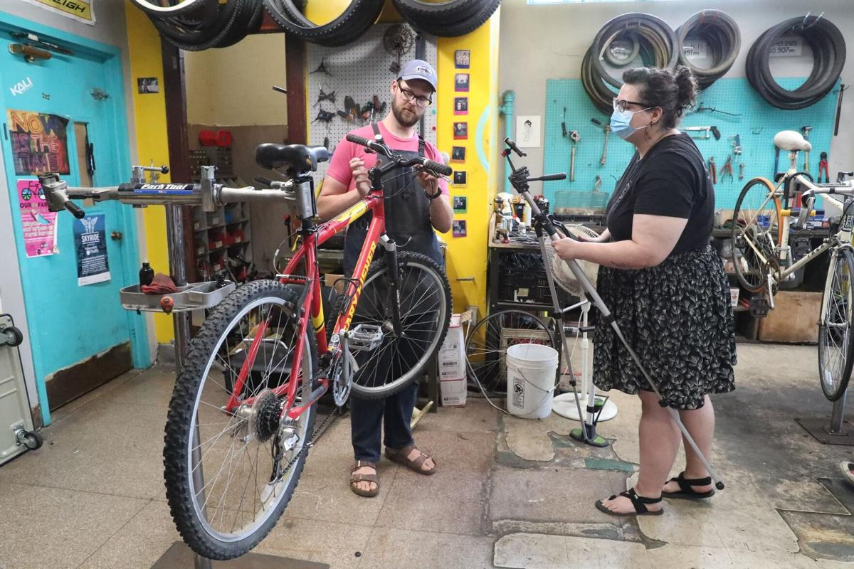 GObike Buffalo community workshop buzzes