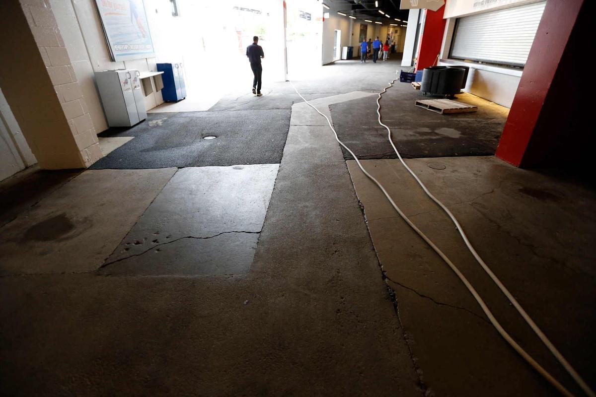 Concourse concrete
