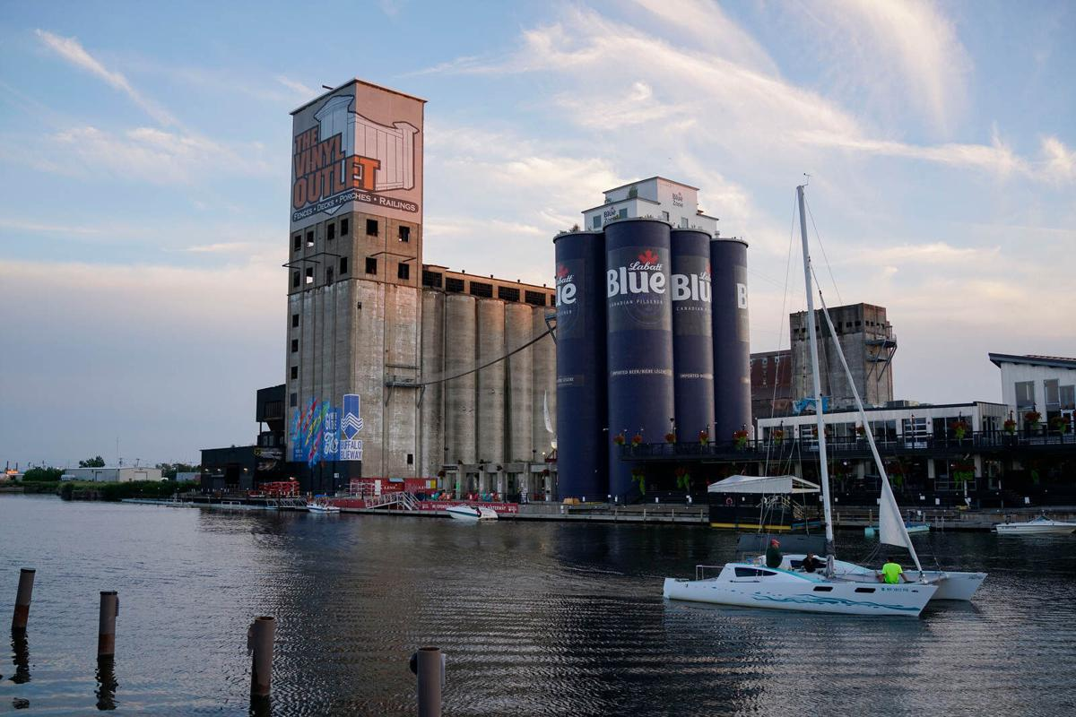 GLF Grain Elevator at Buffalo RiverWorks gets a makeover