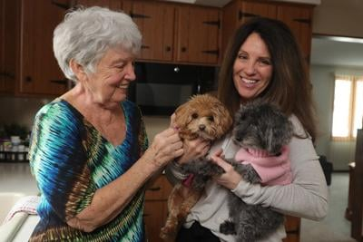 Judith Smentkiewicz recovers at home