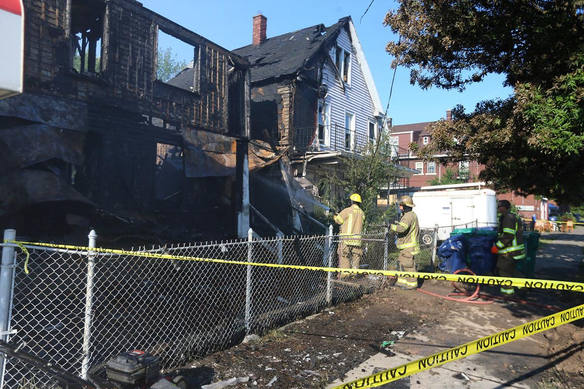 Niagara Falls Firefighters Three building Fire