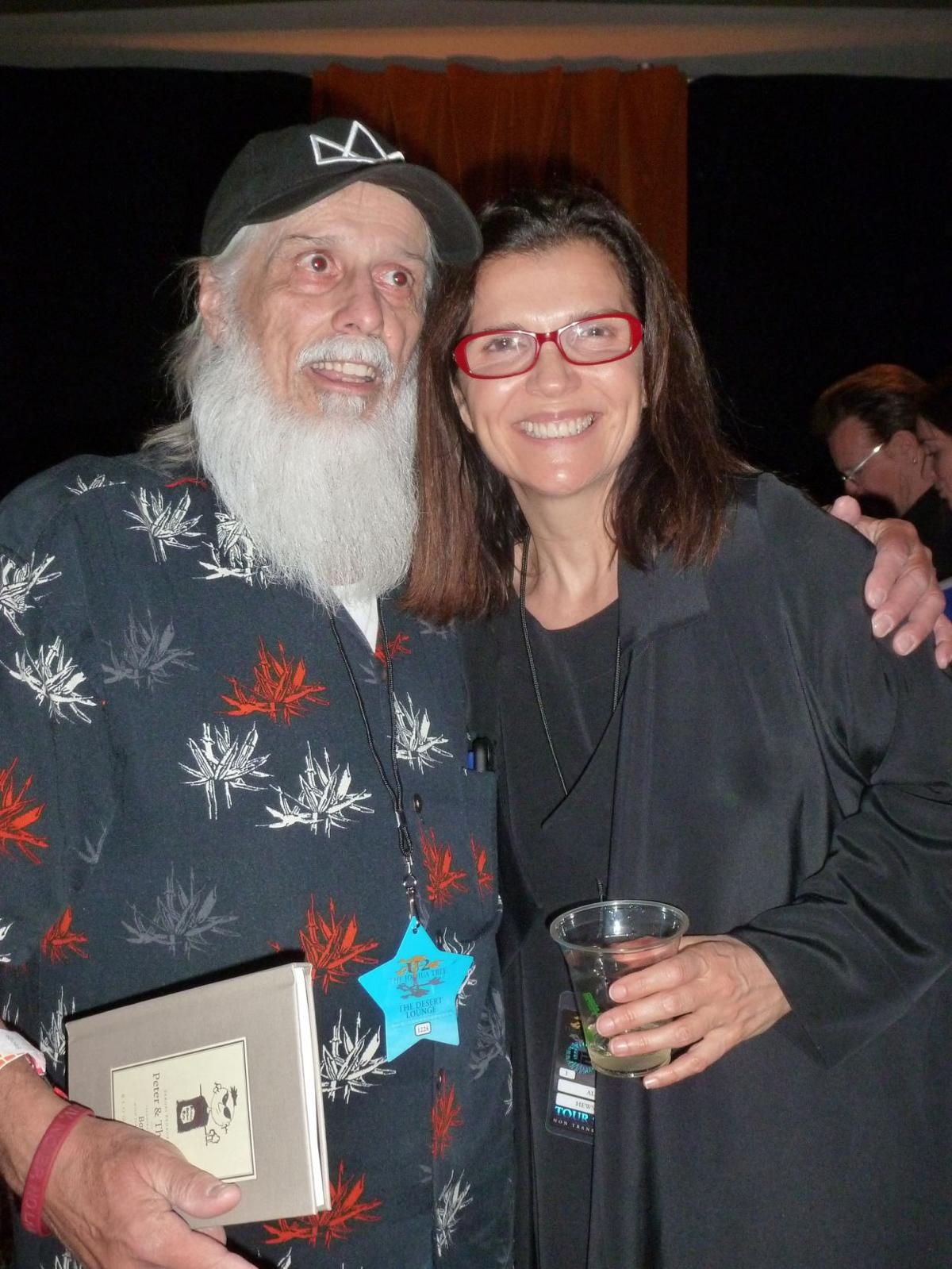Bruce Moser and Ali Hewson