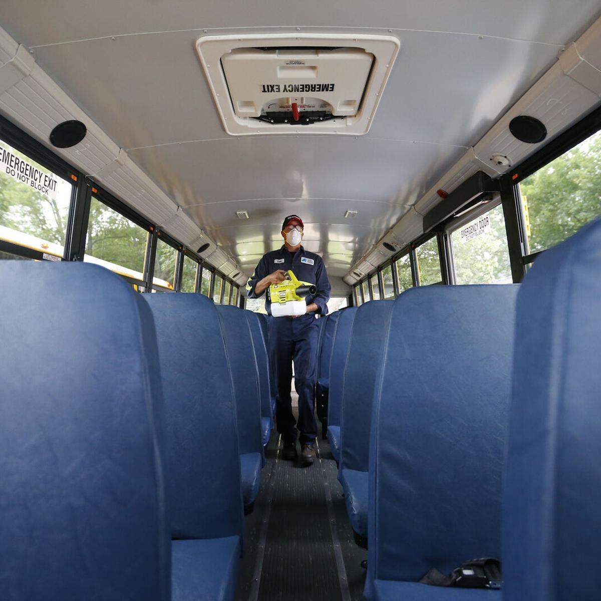 In Some School Districts Half Empty Buses And Full Parking Lots Education Buffalonews Com