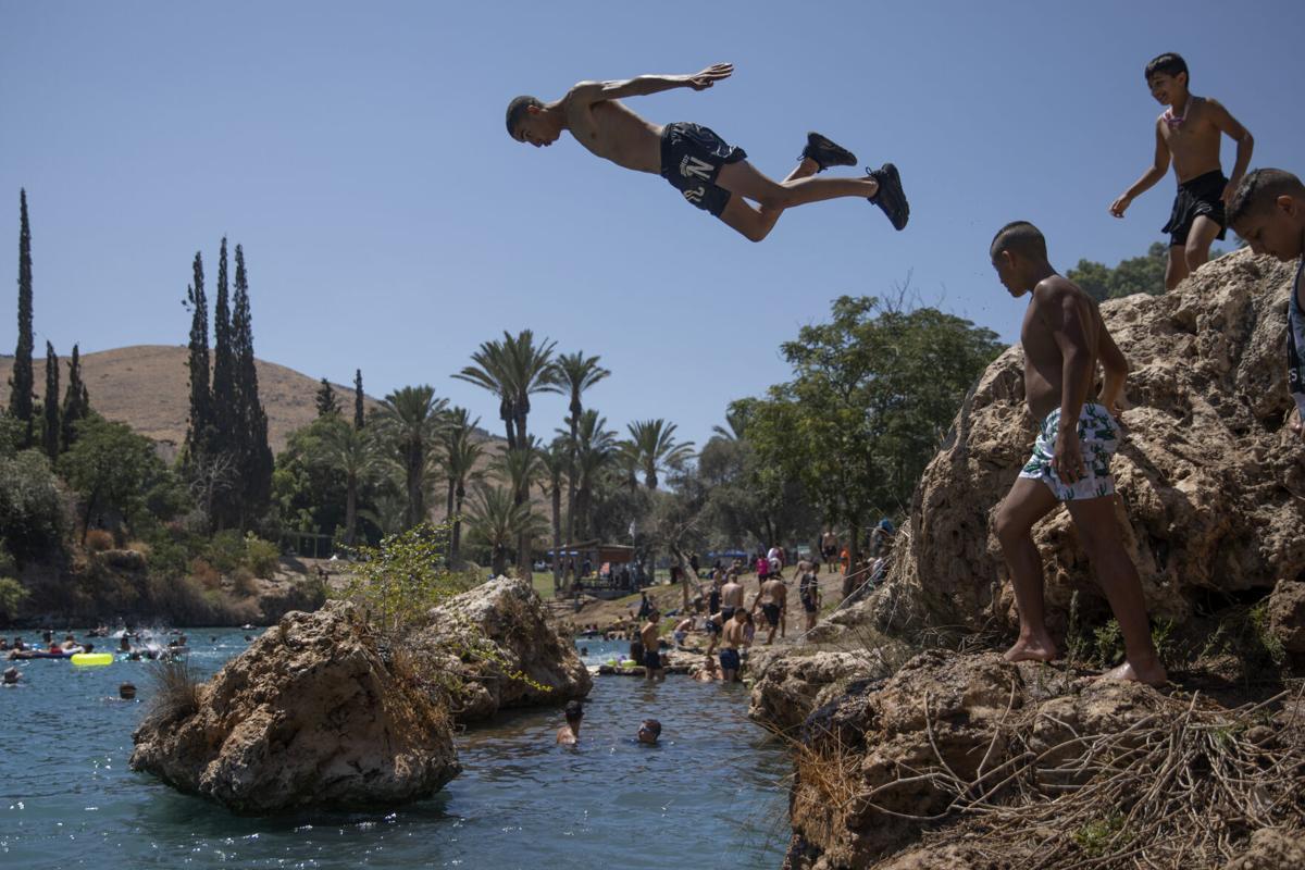 APTOPIX Israel Palestinians Eid al Adha