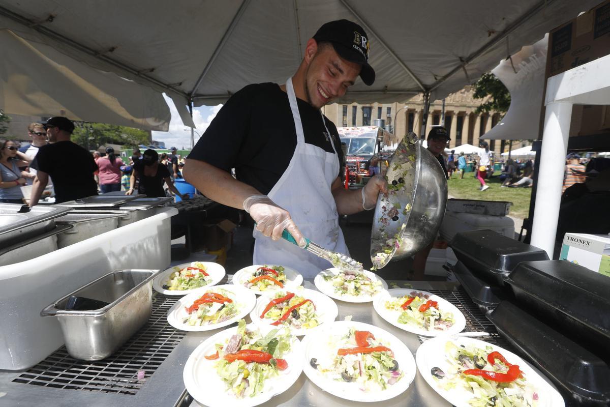 Rookie judge seeks healthy options at Taste of Buffalo