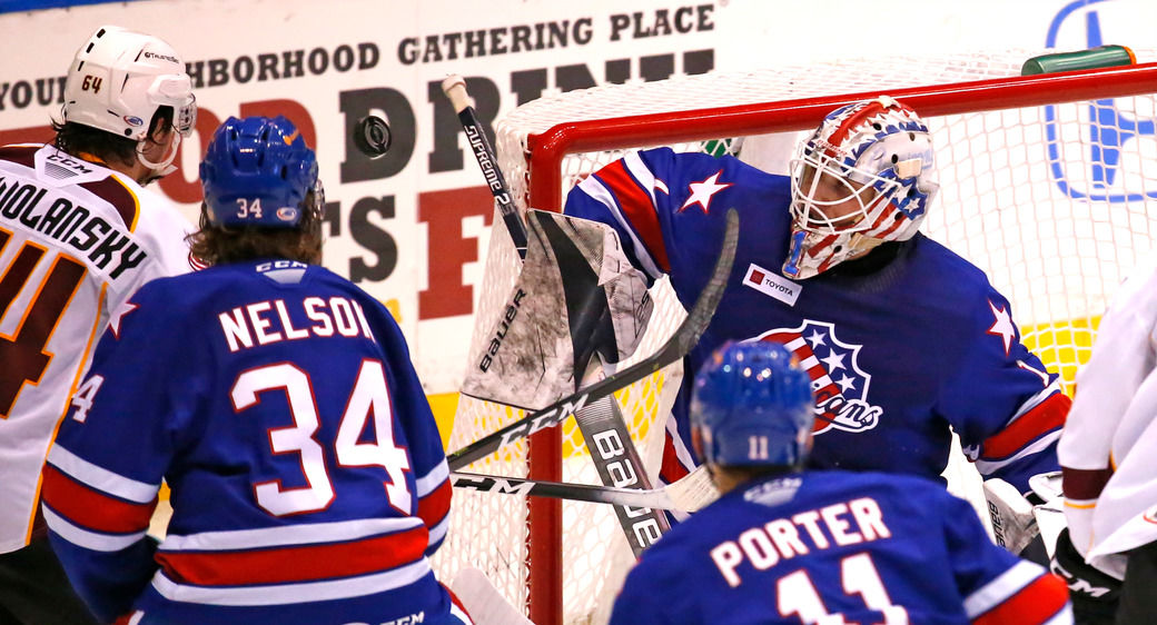 Ukko-Pekka-Luukonen-Sports-Scull-Amherks-AHL-Hockey-Rochester-Monsters
