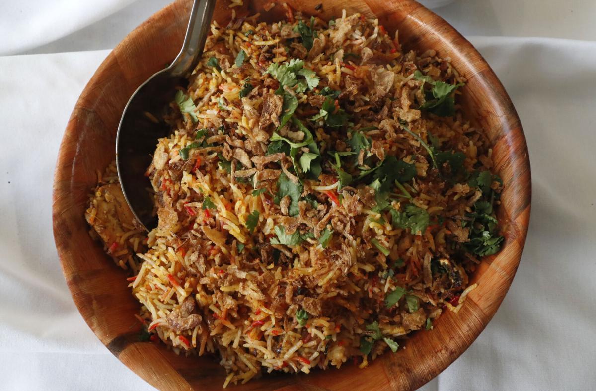 Special biryani at Taste of Nepal restaurant in Niagara Falls