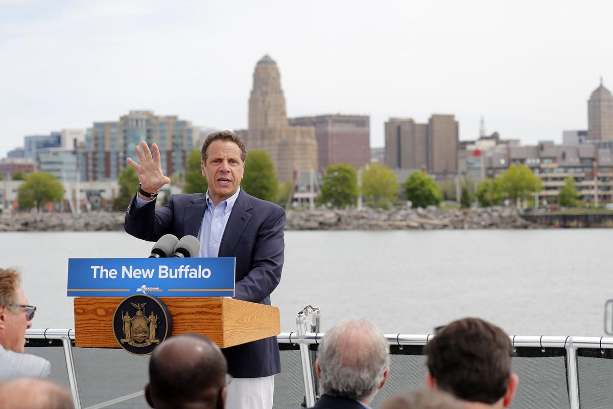 LOCAL GOVERNOR CUOMO WATERFRONT TOUR