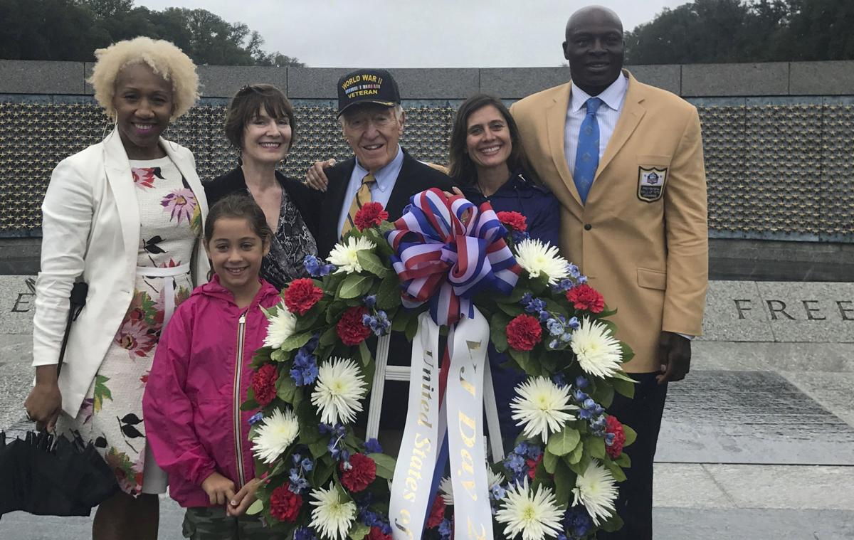 Marv Levy WWII Memorial