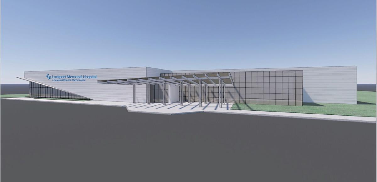 New Lockport Memorial Hospital rendering