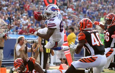 1011009355 McCoy Sports Bills Cincinnati Bengals