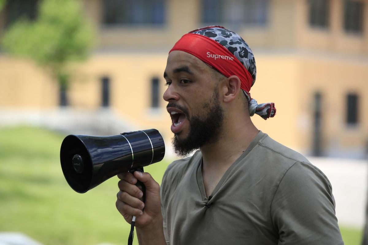 Protest-Myles-Carter-Scull-MLK-Park