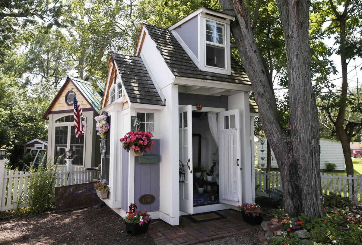 Outdoor spaces: She Shed/He Shed