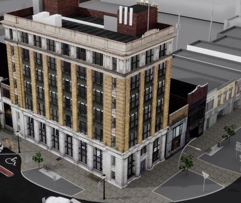 First National Bank-Manny Hanny rendering-Olean