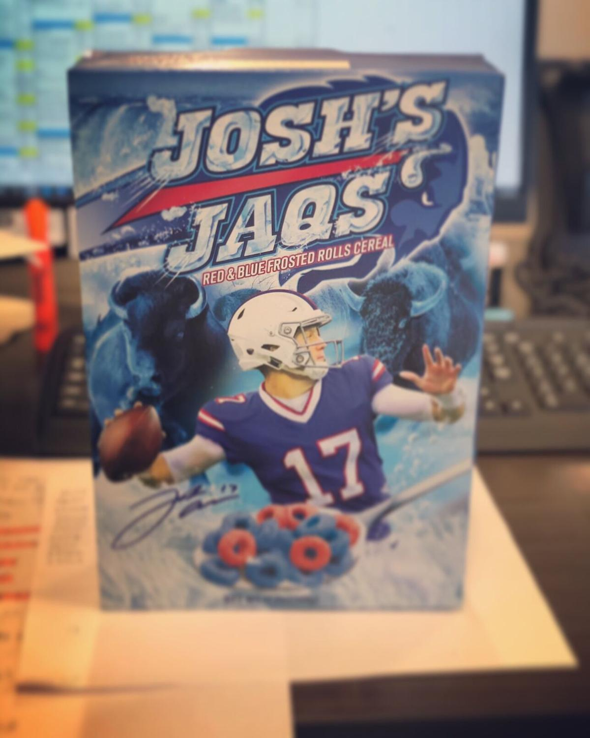 Josh's Jaqs cereal