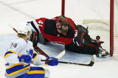 APTOPIX Sabres Devils Hockey