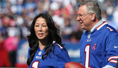 Kim and Terry Pegula Bills featured size