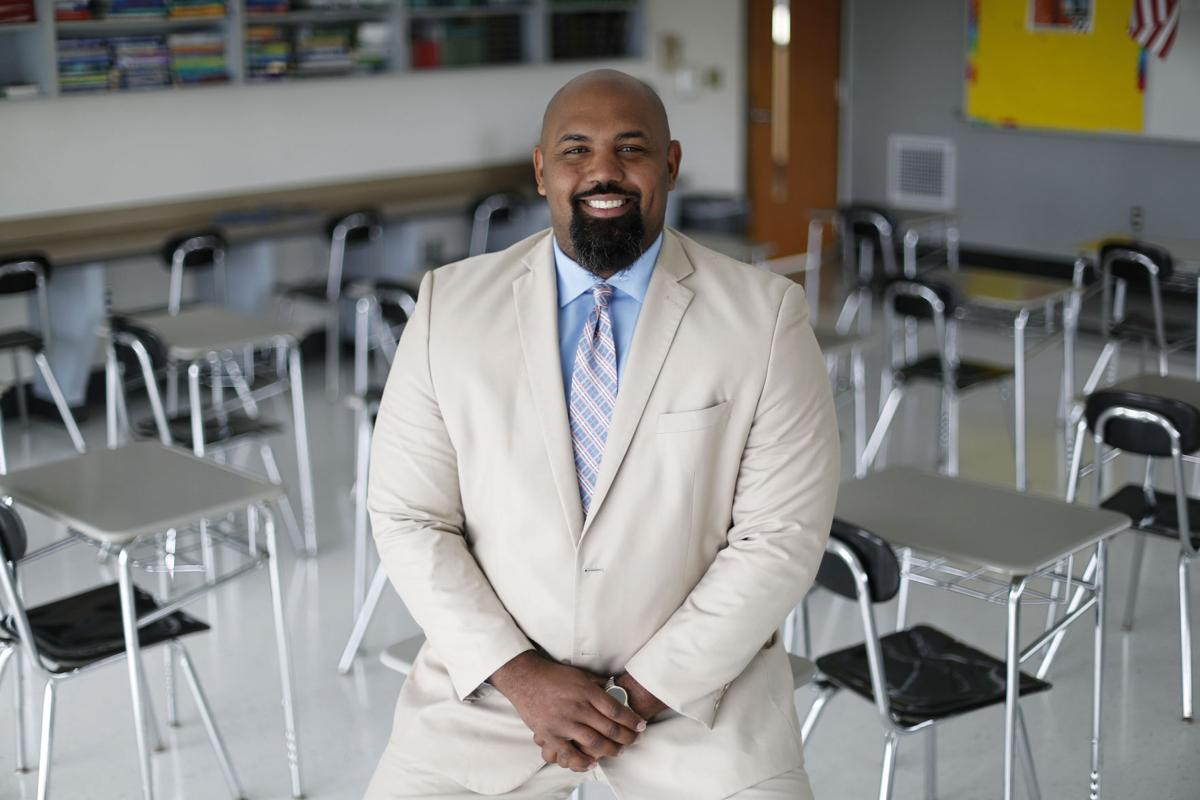 Mckinley High School Principal Mark Abraham