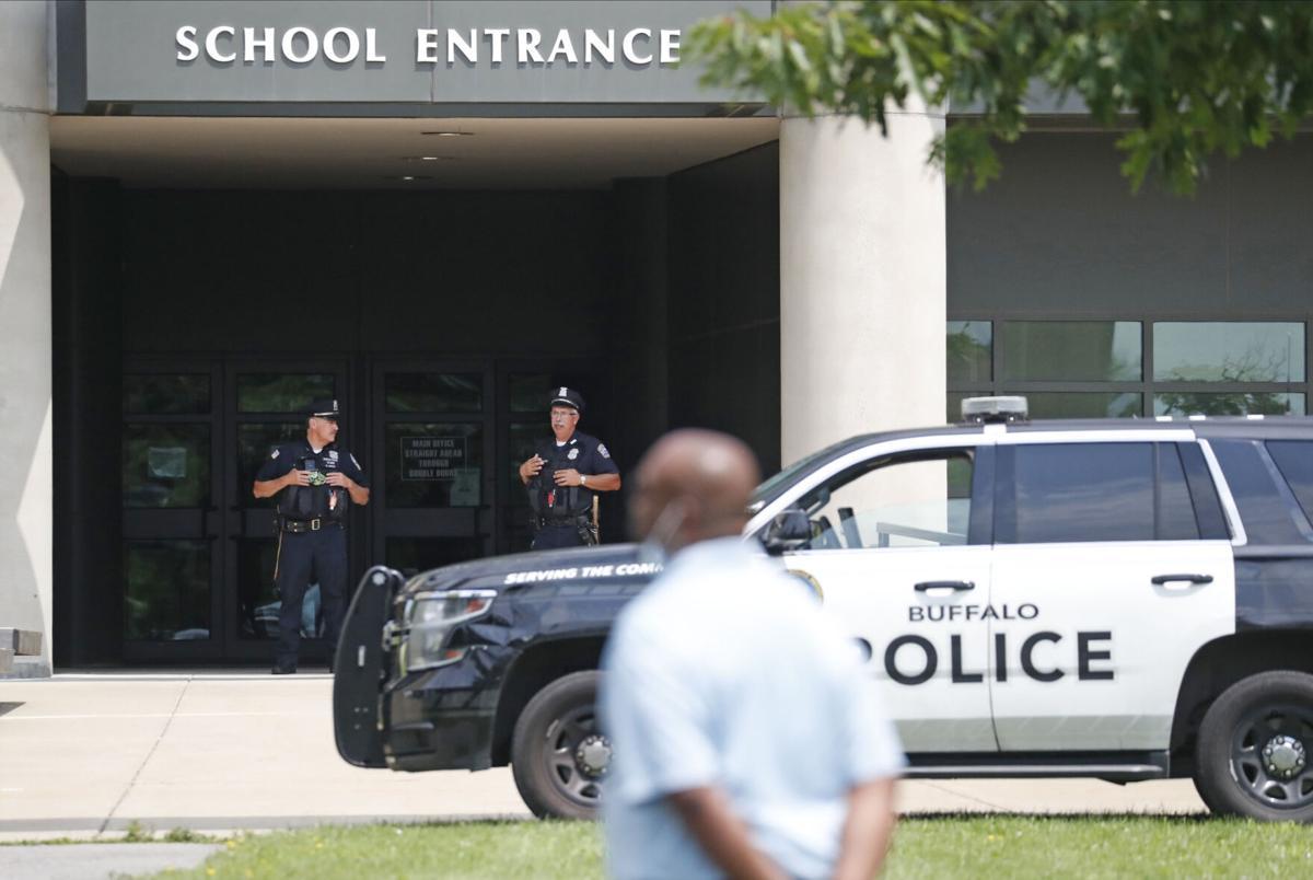 Drew Science Magnet School lock down