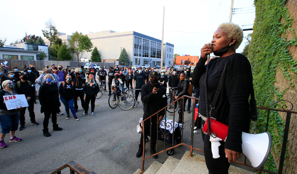 Protesters rally for Willie Henley