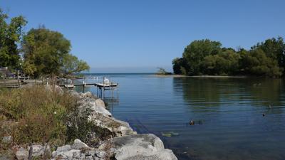 Lake Ontario and East Branch of Twelve Mile Creek