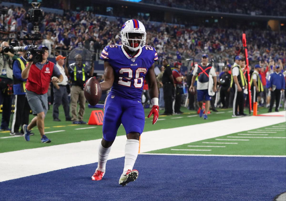 McCoy-Sports-Buffalo Bills running back Devin Singletary (26)-2019